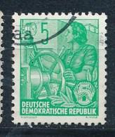 DDR Mi. 577 A Gest. Fünfjahrplan Frau Am Schaltrad - DDR