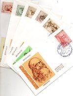 6 Plis De MONACO En 1° Jour Du 25/11/1969 ( LEONARD De VINCI ) - Stamps