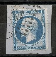 AMBULANT F N 2° (2 Romain) - 1862 Napoleon III