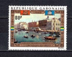 GABON PA N° 124  NEUF SANS CHARNIERE COTE  3.50€  UNESCO - Gabon (1960-...)