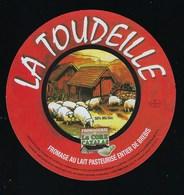 Etiquette Fromage  Au Lait De Brebis    La Toudeille Fromagerie La Core Cavalas Bethmale Ariege 09 - Quesos