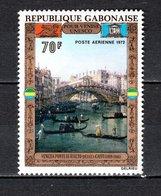 GABON PA N° 125  NEUF SANS CHARNIERE COTE  5.50€  UNESCO - Gabon (1960-...)