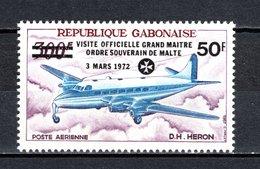 GABON PA N° 128  NEUF SANS CHARNIERE COTE  1.50€  AVION - Gabon (1960-...)