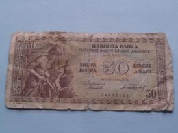 50 Dinara ( Beograd 1 Maj 1946 ) 32267122 > See Photo For Detail !!! - Yougoslavie