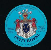 Etiquette Fromage  Petit Royal Export UPPLA - Quesos