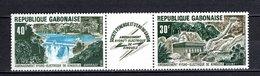 GABON PA N° 140A  NEUF SANS CHARNIERE COTE  2.75€  BARRAGE  ELECTRICITE - Gabon (1960-...)