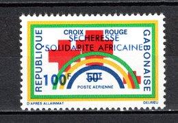 GABON PA N° 143  NEUF SANS CHARNIERE COTE  2.20€  CROIX ROUGE  SECHERESSE - Gabon (1960-...)