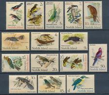 Norfolk-Inseln Nr. 105-119 * 'Vögel' - Vögel