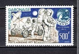 GABON PA N° 144  NEUF SANS CHARNIERE COTE  10.00€  ESPACE  APOLLO XVII - Gabon (1960-...)
