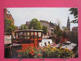 Pays-Bas - Amsterdam - Bloemenmarkt Met Munttoren - Scans Recto-verso - Amsterdam