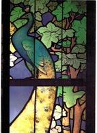 Thème - Art - Vitrail - Jacques Gruber Ecole De NAncy - Galerie Vitrée Vers 1905-1908 - Détail Du Paon - Arts