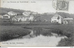 MARTILLY ..--  Village . Vers VIRTON ( Melle Germaine AUBRY Chez EVRARD ) . Voir Verso . - Herbeumont