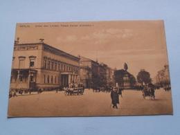 Unter Der Linden, Palais Kaiser WILHELMS I. ( Edit. ? ) Anno 1913 Berlin > Montaigu ( Zie/voir Photo ) ! - Allemagne