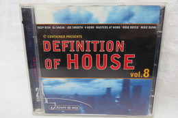 "2 CDs ""Definition Of House"" DJ-Mix, Vol. 8 - Dance, Techno & House"