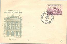 YOUGOSLAVIE  - FDC 14-21.9.1952  / 2 - FDC