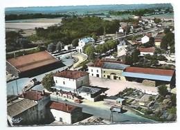 71 - FLEURVILLE - Quartier De La Gare - Vue Aérienne - CPSM - Other Municipalities