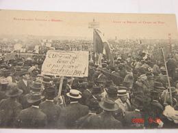 C.P.A.- Béziers (34) - Manifestation Viticole - Avant Le Départ Au Champ De Mars - 1907 - SUP (BE49) - Beziers