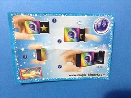 MAGIC LESSONS 2S-10 CARTINA KINDER FERRERO - Istruzioni