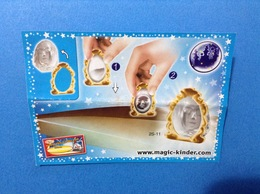MAGIC LESSONS 2S-11 CARTINA KINDER FERRERO - Istruzioni