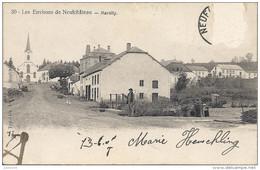 MARTILLY ..-- Le Village .  Vers PANTIN ( Mr NIEL ) . Voir Verso . - Herbeumont