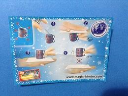 MAGIC LESSONS 2S-14 CARTINA KINDER FERRERO - Istruzioni
