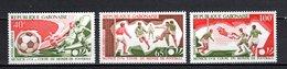 GABON PA N° 152 à 154  NEUFS SANS CHARNIERE COTE 3.50€  FOOTBALL - Gabon (1960-...)