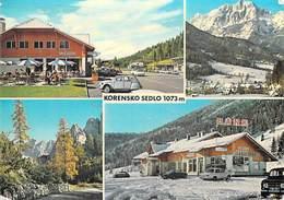 Slovénie Slovenija Slovenia -(Yugoslavija) - KORENSKO SEDLO (auto Voiture  Dont Citroen 2 CV Bank)*PRIX FIXE - Slovénie