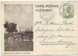 Nr. 107 (Esch-sur-Alzette) - Werbe-Stempel Esch-sur-Alzette 26-11-1936 Nach Luxemburg - Entiers Postaux