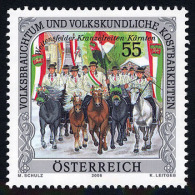 AUSTRIA ÖSTERREICH 2006 Volksbrauchtum Und Volkskundliche Kostbarkeiten: Weitensfelder Kranzelrei  MNH / ** / POSTFRISCH - 1945-.... 2. Republik