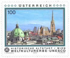 AUSTRIA ÖSTERREICH Weltkulturerbe UNESCO - Historisches Zentrum Von Wien MNH/**/postfrisch - 1945-.... 2. Republik