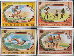 Chad 867-870 (complete Issue) Unmounted Mint / Never Hinged 1979 Olympics Summer '80 - Chad (1960-...)