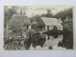 Tonquédec (Côtes D'Armor) N°355 - Vallée Du Guer, Moulin De Coat-Morvan - Carte Animée, Non-circulée - Tonquédec