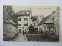 Chambly N°122 - Un Coin De Saint-Aubin, Sur L'Esches - Carte Animée, Non-circulée - France