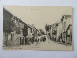 Vittel N°10916 - Rue De Valleroy - Carte Animée, Non-circulée - Vittel Contrexeville