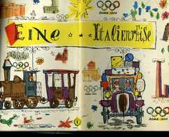 Vieux Papiers - Dépliant En Allemand Avec Carte De L'Italie - ItalienReise -1960 - Doc Banca Nazionale Del Lavaro - Esso - Cartes Routières