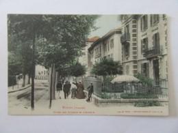 Vittel N°4636 - Hôtel Des Sources Et L'Annexe - Carte Couleur Animée, Non-circulée - Vittel Contrexeville