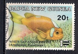 Papua New Guinea 1989 - Anemonefish  Surcharge - Papúa Nueva Guinea