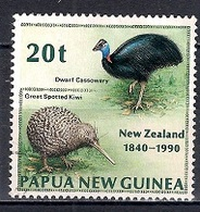 Papua New Guinea 1990 - The 150th Anniversary Of The Treaty Of Waitangi - Papúa Nueva Guinea
