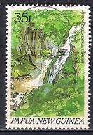 Papua New Guinea 1990 - Waterfalls - Papúa Nueva Guinea