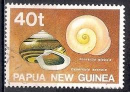 Papua New Guinea 1991 - Land Shells - Papúa Nueva Guinea