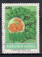 Papua New Guinea 1992 - Flowering Trees - Papúa Nueva Guinea