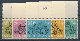 Niederlande Nr. 601-605 ** ~ Michel 18,- € - 1949-1980 (Juliana)