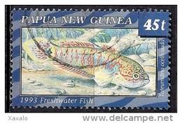 Papua New Guinea 1993 - Freshwater Fish - Papúa Nueva Guinea