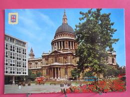 Angleterre - Londres - Cathédrale Saint Paul - Excellent état - Scans Recto-verso - St. Paul's Cathedral