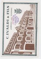 COGNAC & FINE CHAMPAGNE C.IVALDI & FILS JARNAC CHARENTE - Liquor & Beer