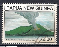 Papua New Guinea 1995 - The 1st Anniversary Of The Volcanic Eruption, Rabaul - Papúa Nueva Guinea