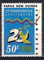 Papua New Guinea 1995 - The 20th Anniversary Of Independence - Papúa Nueva Guinea