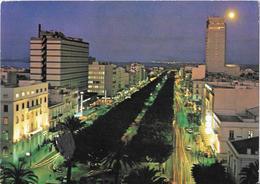 TUNIS - Clair De Lune Sur L'Avenue Bourguiba - Tunisie