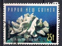 Papua New Guinea 1997 - Pacific Year Of The Coral Reef - Corals - Papúa Nueva Guinea