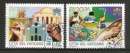 Vatikanstadt  2006  Mi.Nr. 1546 / 1547 , EUROPA CEPT  Integration - Gestempelt / Fine Used / (o) - 2006